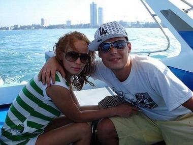 Гуф с женой Айзой